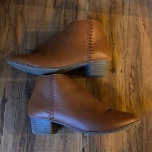 Size 3 ankle boots from target.